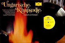 H. von Karajan LP: LISZT/UNGARISCHE RHAPSODIE 2,4,5/CHERKASSKY - DG 2538077, NM