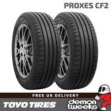 2 x Toyo Proxes CF2 High Performance Road Tyres 205 55 R16 (205/55/16) 91V TL