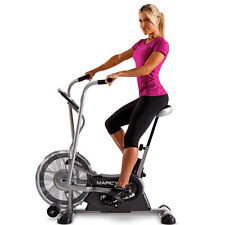 Deluxe Fan Bike | Marcy AIR-1 Resistance System Exercise Cardio Workout Machine