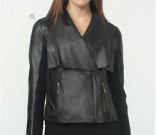 Petite Leather Zip Coats & Jackets for Women