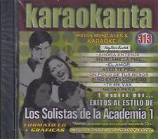 YURIDIA YAHIR NADIA LOS SOLISTAS DE LA ACADEMIA 1  KARAOKE New Sealed