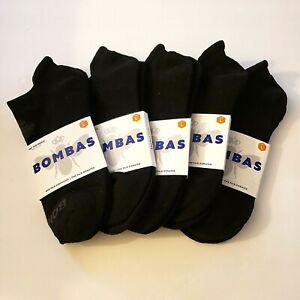 NEW + FREE SHIPPING 5-Pack Bombas Ankle Socks Size Large Unisex Men Women