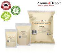 Ashwagandha Root Powder 1oz to 15 lbs Non Gmo Withania Somnifera Kosher