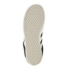 Scarpe nere adidas camoscio per bambini dai 2 ai 16 anni