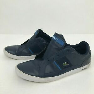 Lacoste Mens Shoes Sneakers Blue Europa TWD Streetwear Alligator US 13 EU 47