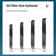 UURig 67/72/77/87MM Magnetic ND Filter Lens Filter Adapter Ring for DSLR