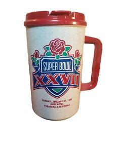 Super Bowl XXVII Travel Mug Rose Bowl Coca Cola