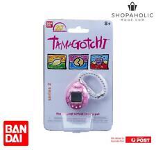 Bandai Tamagotchi 20th Anniversary Series 2 Chibi Dark Pink with White