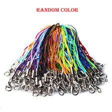 50Pcs Lot  Mix Colors Cell Phone Lanyard Cords Strap Lariat Mobile Lobster Clasp