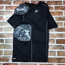 Adidas Adult Techfit Padded Football Shirt Rib Protector Size Medium Camo Black