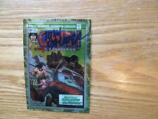 1996 CONAN THE MARVEL YEARS CHROMIUM CARD # 55 SIGNED TOM PALMER, WITH POA