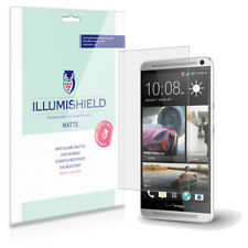 iLLumiShield Matte Screen Protector w Anti-Glare/Print 3x for HTC One Max