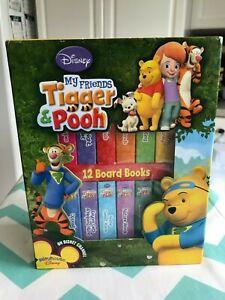Pre-Owned Disney's My Friends Tigger & Pooh Set Of 12 Mini Board Books