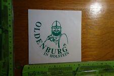 Alter Aufkleber Reise Stadt OLDENBURG Holstein