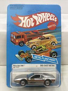 1982 Hot Wheels The Hot Ones Race Bait 308 2021 New Nib Hong Kong Unpunched