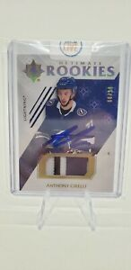 2019-20 Ultimate Collection ANTHONY CIRELLI Rookie Patch Auto 66/99 Tampa Bay...