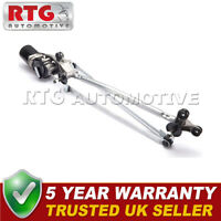 BRAND NEW Front Windscreen Wiper Motor + Complete Linkage for UK Qashqai 07-13