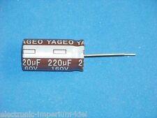 Elko, radiale, 220µf (220uf)/160v/105 ° C, 2 PZ. (ø16x32mm)