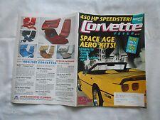 CORVETTE FEVER--MAY,1991--MAGAZINE-SPACE SGE AERO KITS !