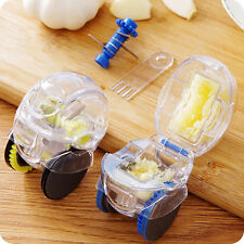 Kitchen Garlic Press Chopper Slicer Hand Presser Grinder Crusher Practical/ZBUK