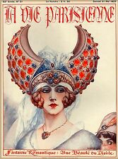 1927 La Vie Parisienne Fantaisie French France Travel Advertisement Poster