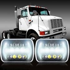 2pcs International IHC Harvester 4700 9400 9900 9200 8100 LED Headlight Assembly
