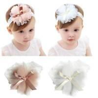 1pc Baby Girls Toddler Lace Flower Hair Band Headwear Kids Headband Accessories_