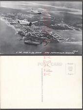 II Vintage Photo Postcard T28 & T34 Air Force Airplanes Pensacola 685177