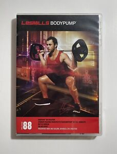Les Mills BODYPUMP 88 DVD CD Set with Booklet