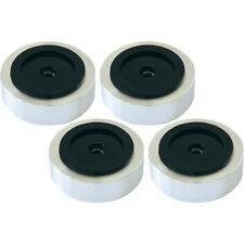 Dynavox Aluminium-Füsse für HiFi-Geräte Silber / 4er-Set Absorber (206381) NEU!
