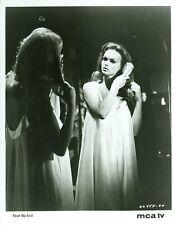 LYNDA DAY GEORGE BRUSHES HAIR FEAR NO EVIL ORIGINAL 1967 MCA TV PHOTO