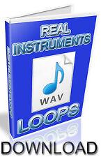 Les instruments wav boucles-fl studio-Cubase-Pro Tools-Logic-Ableton-kontakt
