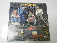 1978 THE WHO Who Are You LP MCA Records ‎MCA-3050 VG+/VG