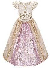 Disney Store Tangled Ever After Rapunzel Wedding Costume Dress Size 5/6