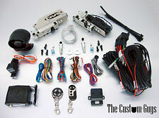 AVS SHAVED DOOR KIT POWER SINGLE CLAW LATCH W/ 2 CH. ALARM SYSTEM FREE SHIPPING