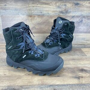 Merrell Men's Size 9 Black Thermo Shiver Hiking Ankle Boots J15893