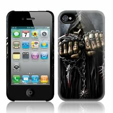 Espiral directo Game Over Apple Iphone 4/4s teléfono móvil Estuche/cubierta biker/tattoo