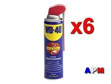 6 x 500 ML WD-40  LUBRIFIANT DÉGRIPPANT  PRO   ( Double Positions)  500 ML