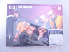 BTS FACE YOURSELF First Limited Edition CD + DVD + Photo booklet + sticker B F/S