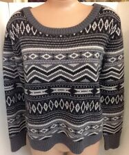 Haute Hippie Sweater Multi Gray Size Xs/S