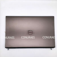 New Genuine For Dell Precision M6600 LCD Back Cover +Hinges&Cable 0772MN 772MN