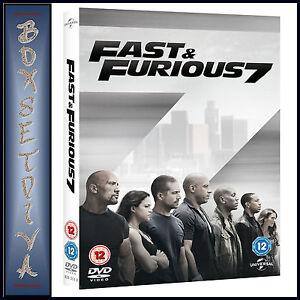 FAST & FURIOUS 7 -  Vin Diesel & Paul Walker ***BRAND NEW DVD***