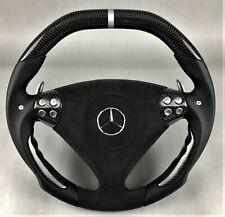 Mercedes AMG SLK 55 R171 W203 C55 Carbon Alcantara Sport Lenkrad steering wheel