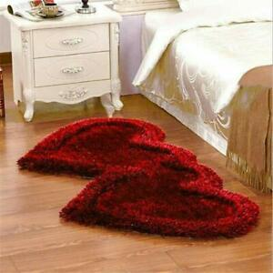 Maroon Modern Carpet Of Polyester 22 x 55 Inches For Home Decor, Pack of 1 Pc