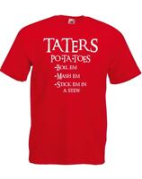 Taters, Mens Printed T-Shirt