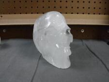 Carved Crystal Skull Realistic Quartz Free Shipping USA Seller 5 lb 11.5 oz