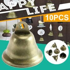 10 Pieces 1.5'' Vintage Bronze Jingle Bell Dog Potty Training,Wind Chimes DIY UK