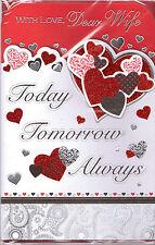 Tarjeta De San Valentín Para Ama. Con Amor Dear Ama Hoy Mañana & You'll Always