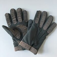 Thinsulate Gloves Mens S Small Driving Gloves Suede Gray Outdoor Winter Cold