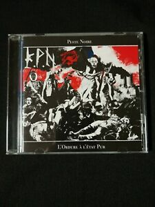 Peste Noire - L'Ordure À L'État Pur CD With Sticker KPN Brand New MINT RARE OOP